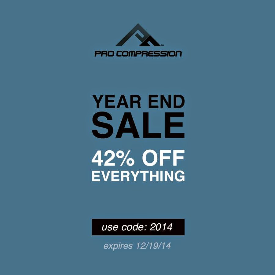 PRO Compression End of Year SALE!