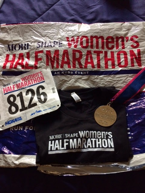 MORE/FITNESS/SHAPE Women's Half-Marathon Recap
