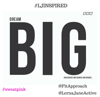 Join #SweatPink for the #LJInspired Instagram Challenge!