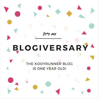 Kookyrunner Blog Turns 1 + Running Warehouse Giveaway!