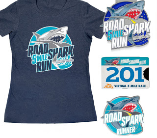 Gone For A Run Road Shark Run Virtual 5 Mile Race Recap