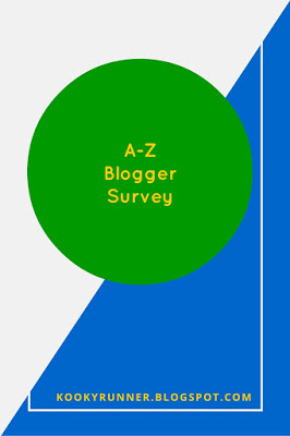 Blogger A-Z Survey!