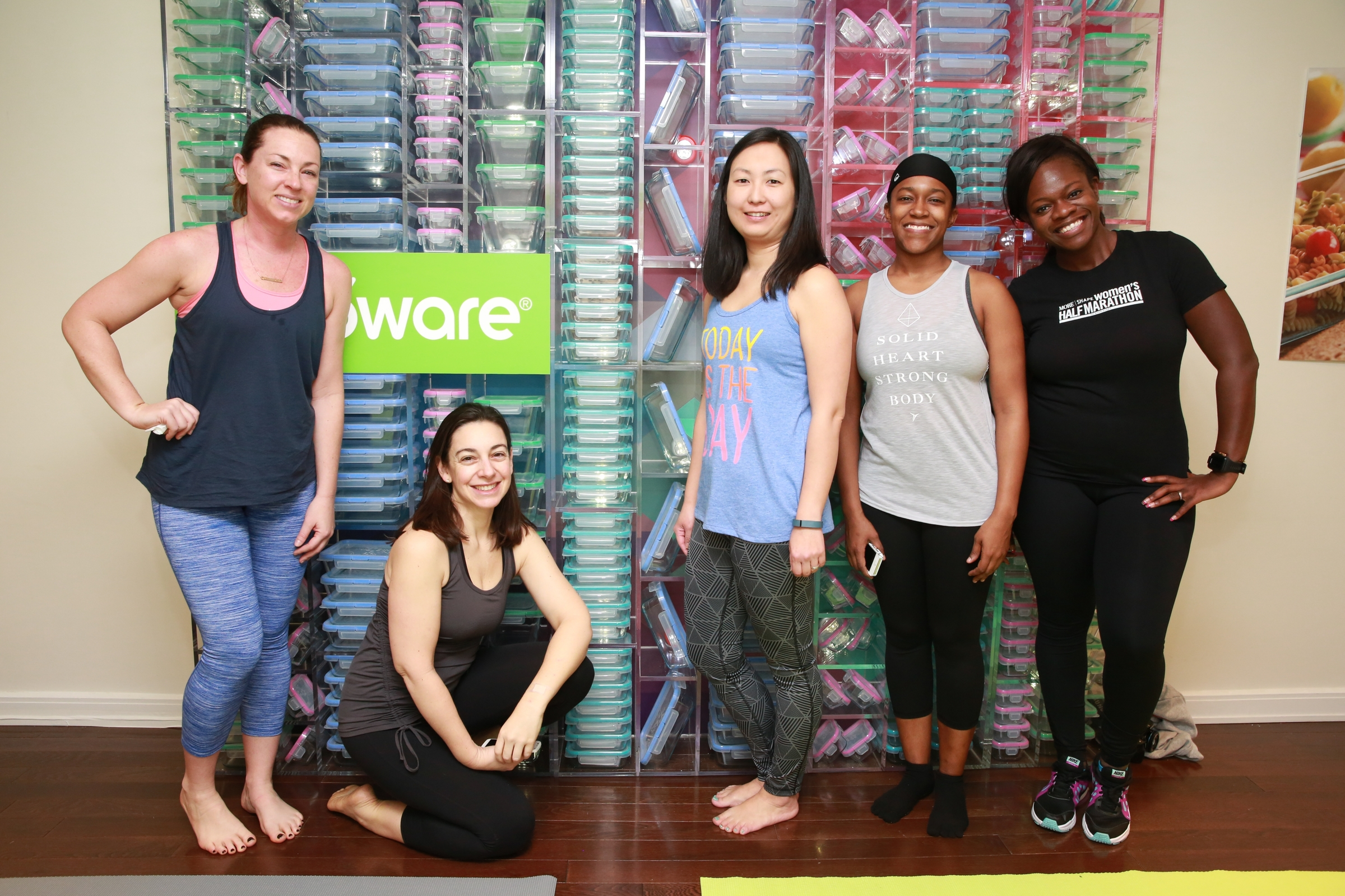 Bend & Snapware Yoga Event with Kristin McGee