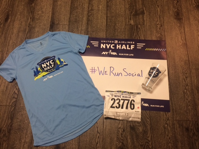 New York City Half Marathon Experience + #WeRunSocial Meet Up!