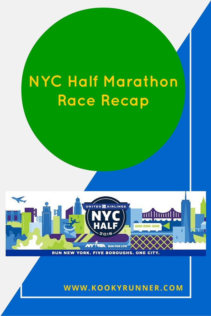 NYC Half Marathon Race Recap!