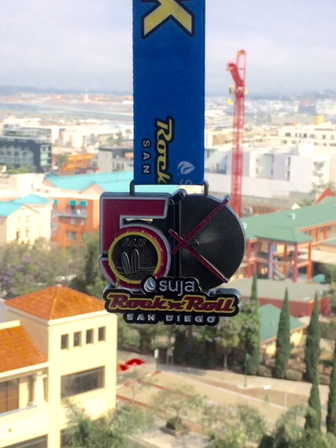 Rock 'n' Roll San Diego 5K and Half Marathon Recap