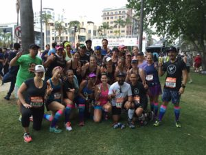 Love the #WeRunSocial crew! Photo credit: Brian