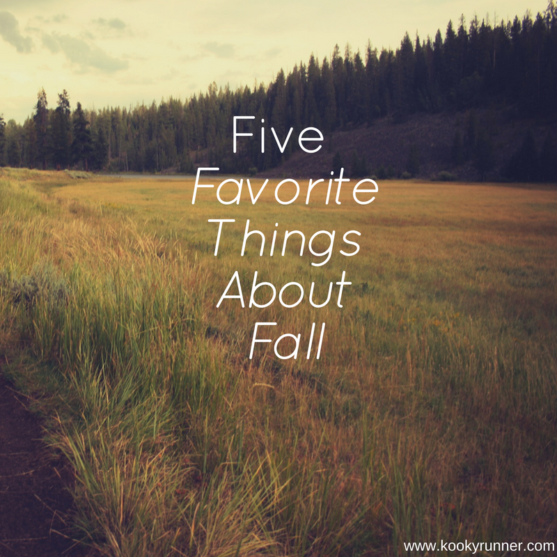 5 Favorite Things About Fall