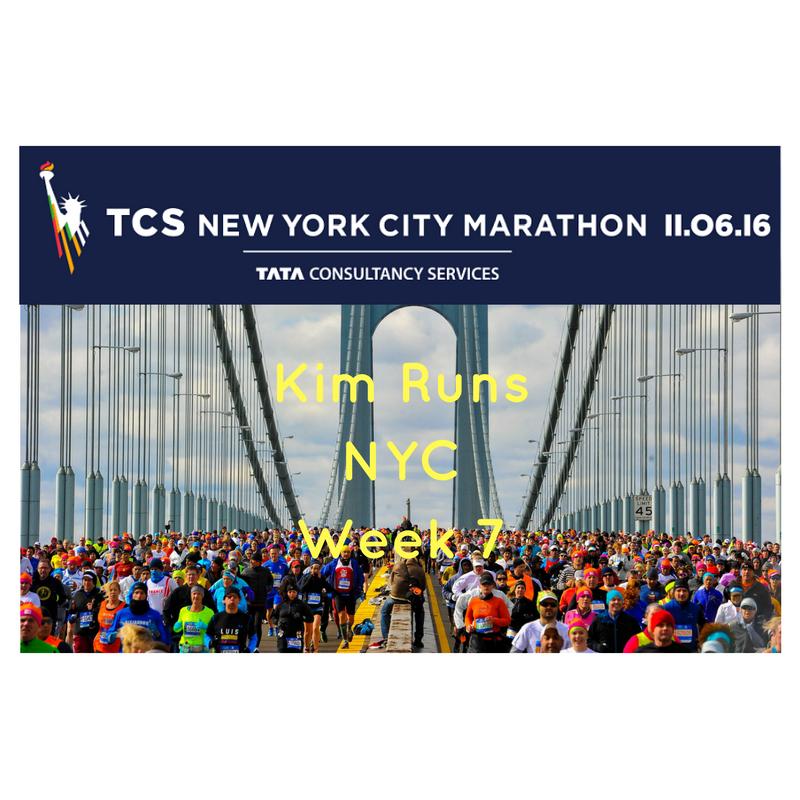 NYC Marathon Training Recap Week 7