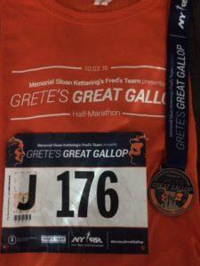 Grete's Great Gallop Half Marathon Race Recap