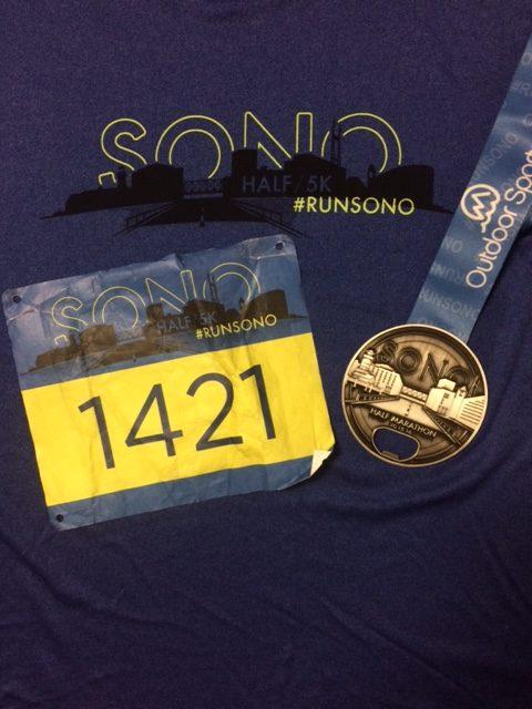SoNo Half Marathon Race Recap