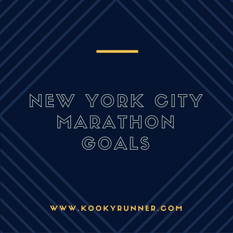 New York City Marathon Goals