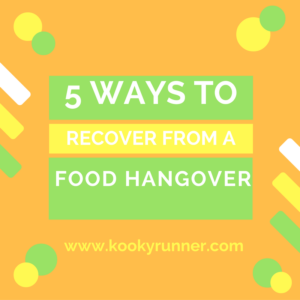 5 Ways to Recover from a Food Hangover