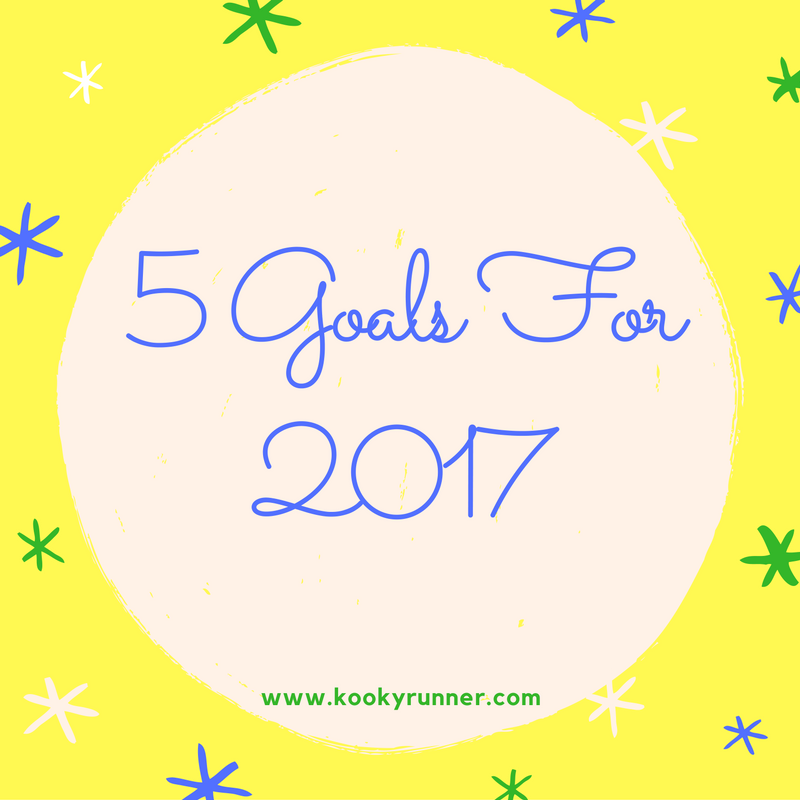 Friday Five 2.0: 5 Goals for 2017