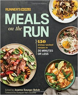 #FrugalFridays – Runner's World Meals on the Run Cookbook Review + Giveaway!