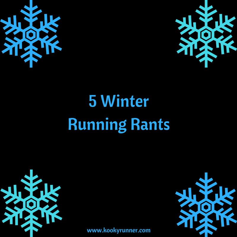 5 Winter Running Rants