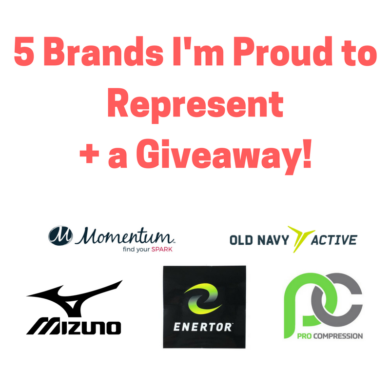 5 Brands I'm Proud to Represent + A Giveaway!