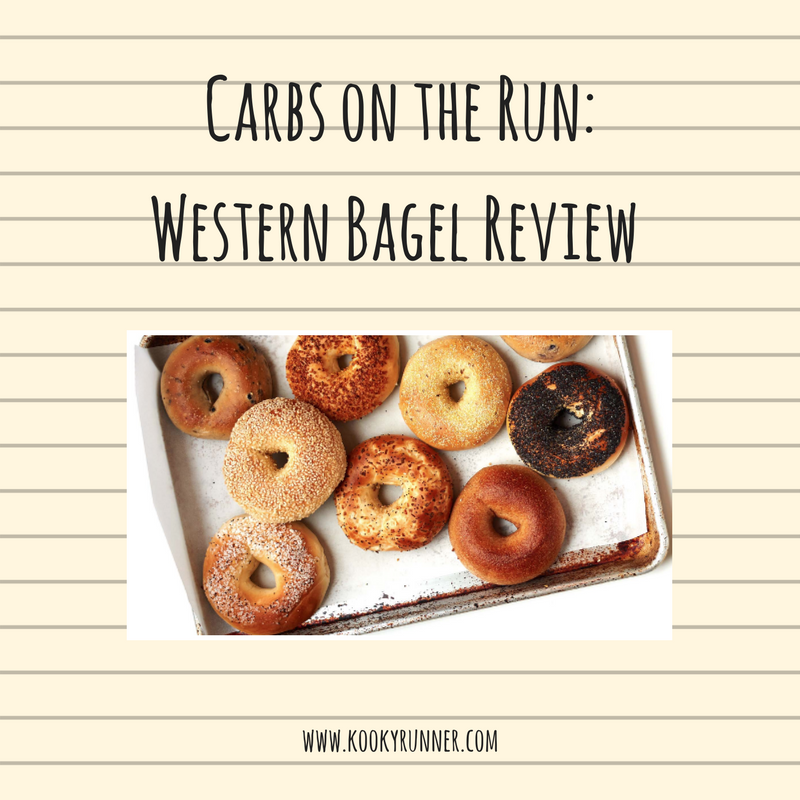Carbs on the Run: Western Bagel Review
