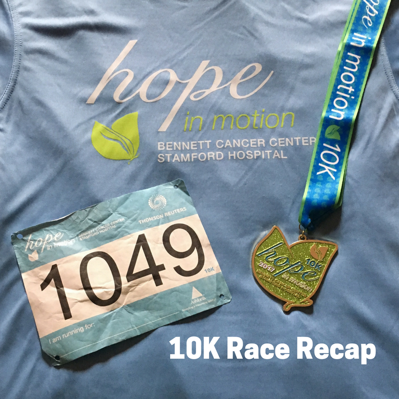 Hope in Motion 10K Race Recap