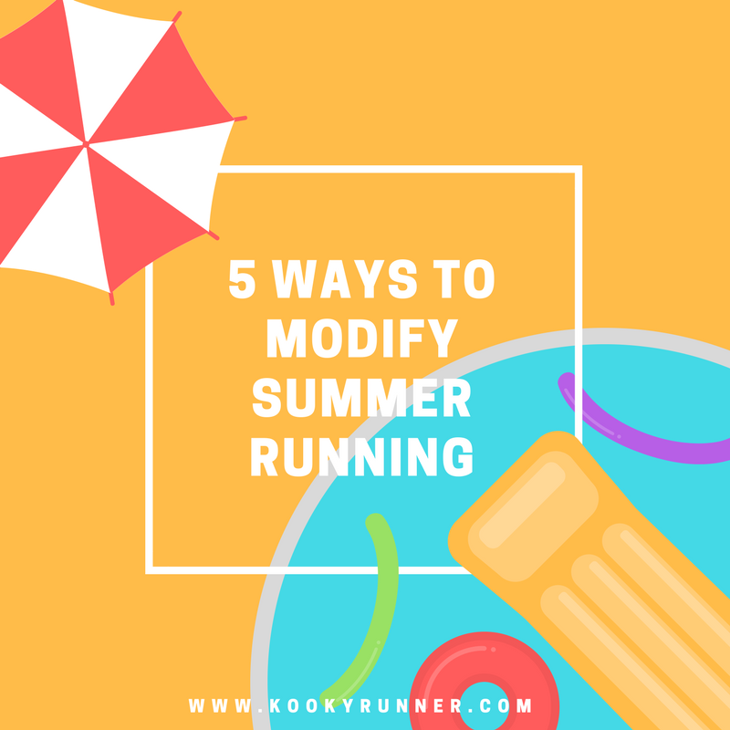 5 Ways to Modify Summer Running