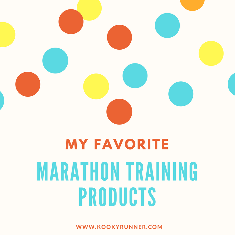 My Favorite Marathon Training Products