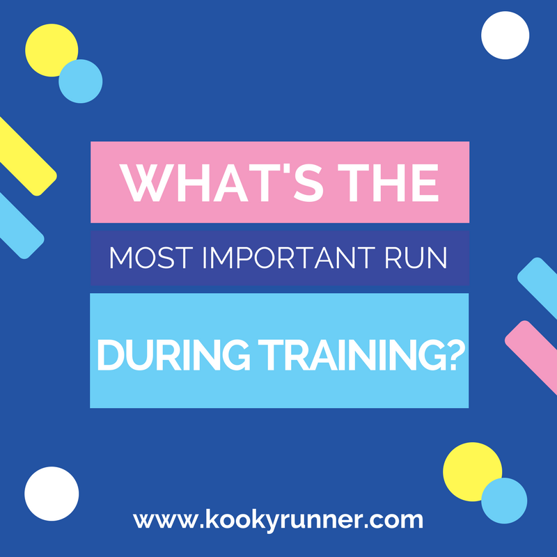 Whats the Most Important Run During Training?