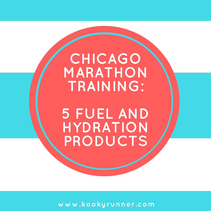 Chicago Marathon Training: 5 Fuel and Hydration Products