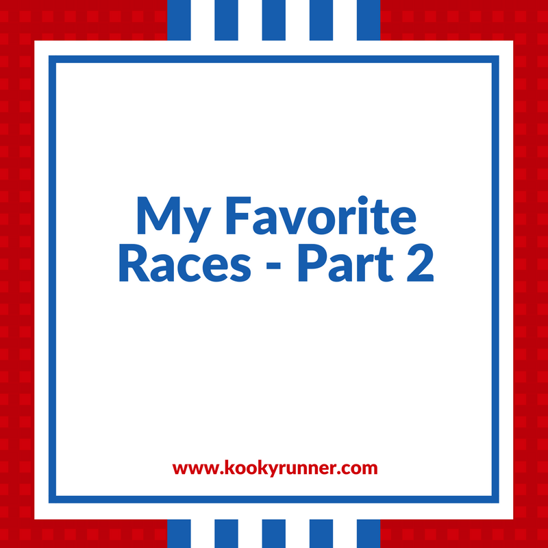 My Five Favorite Races – Part 2