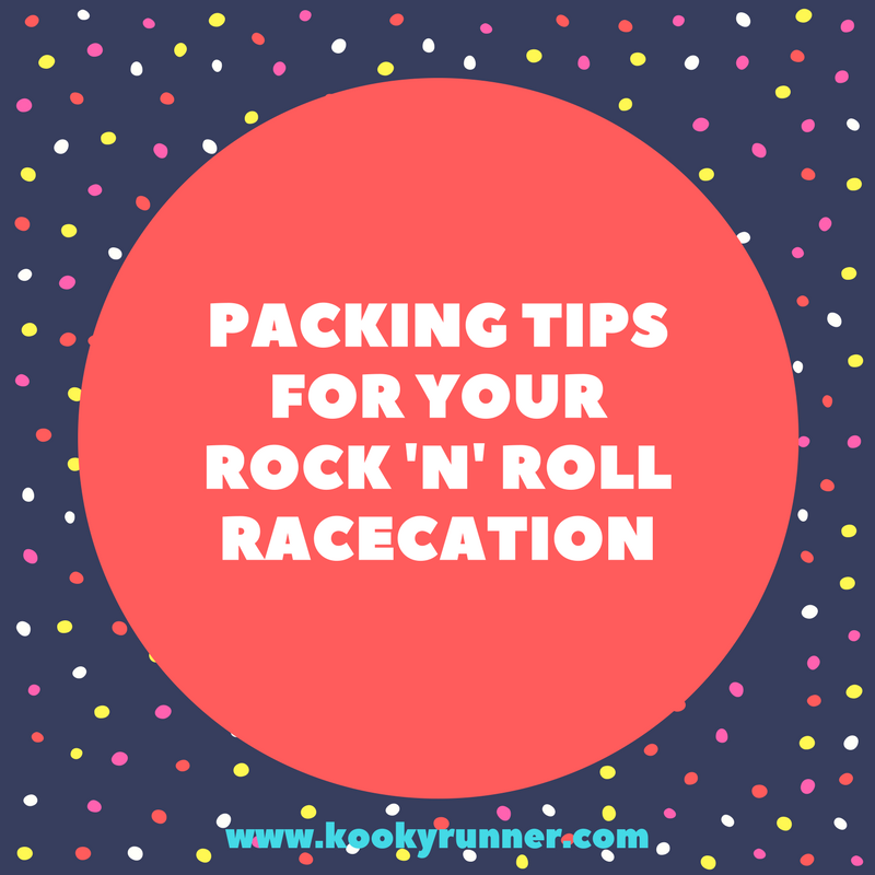 Packing Tips for Your Rock 'n' Roll Racecation