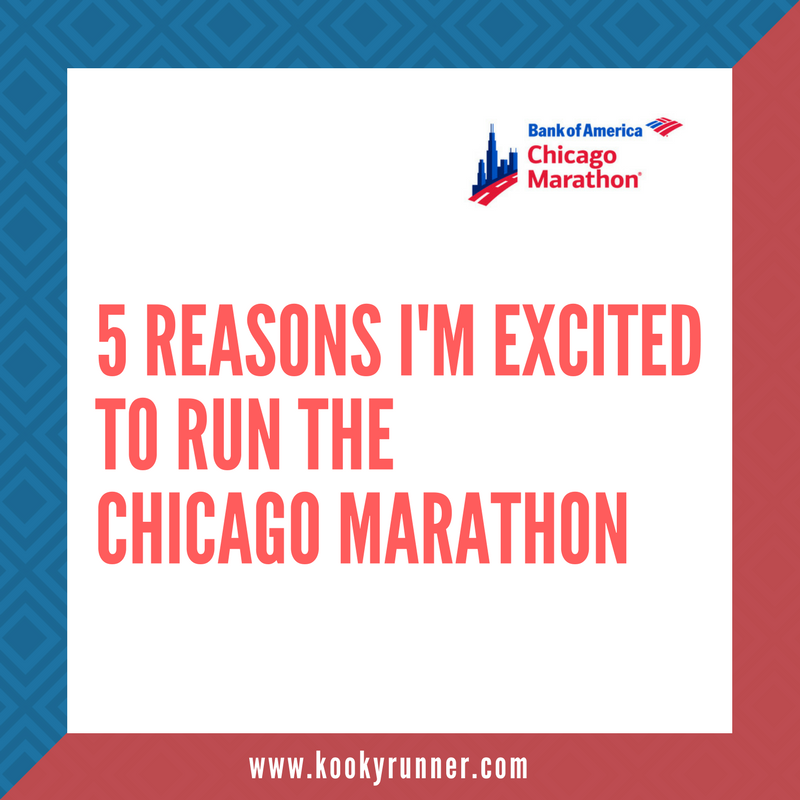 5 Reasons I'm Excited to Run the Chicago Marathon