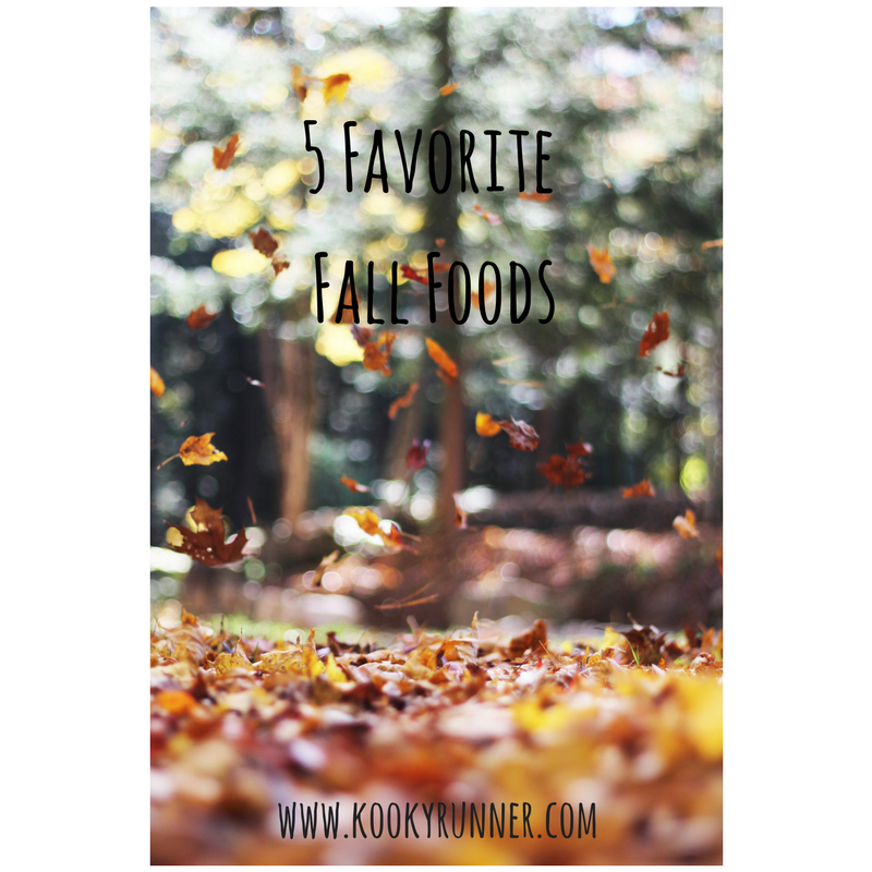 5 Favorite Fall Foods