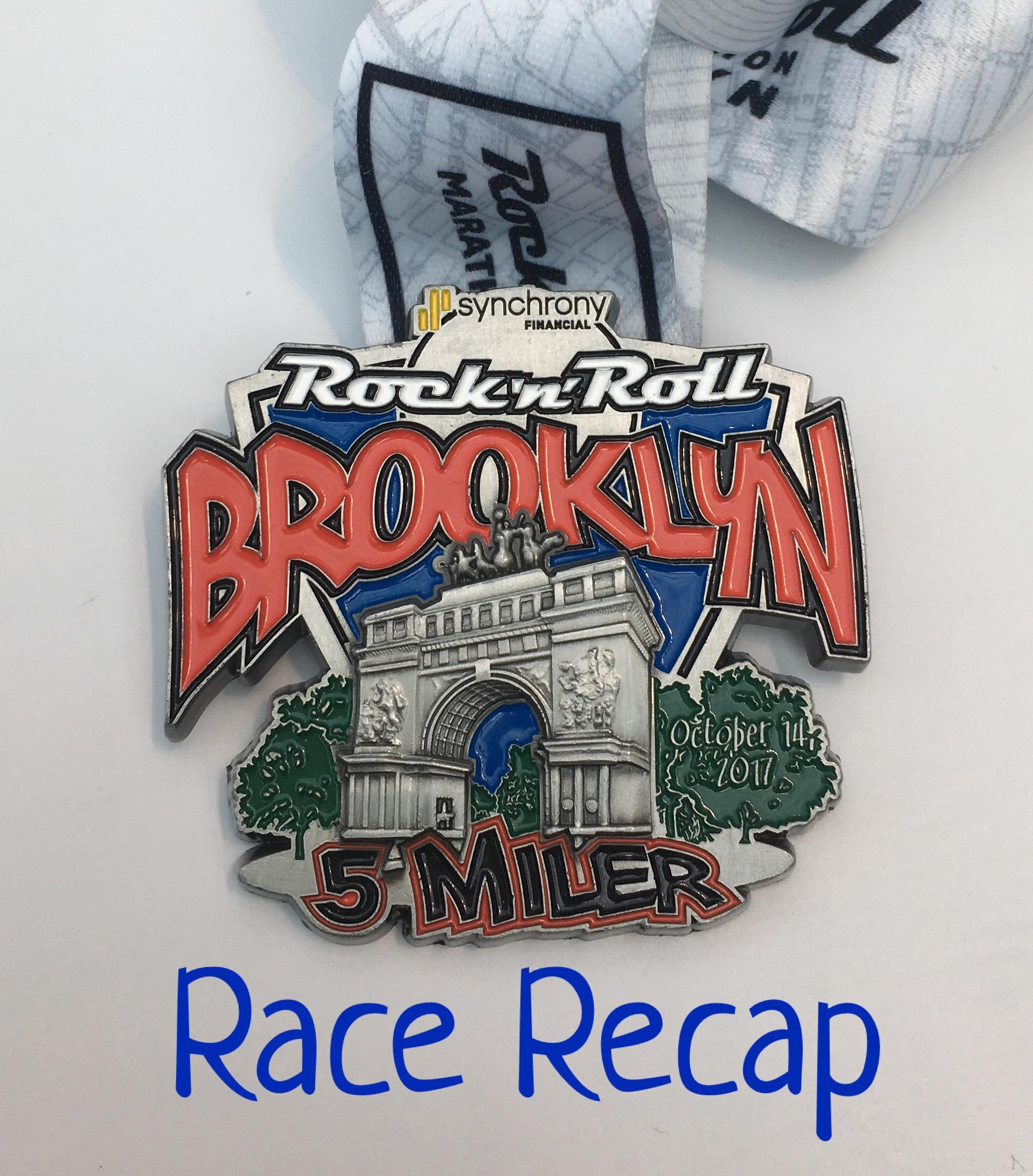 Rock 'n' Roll Brooklyn 5 Miler Race Recap