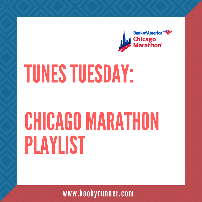 Tunes Tuesday 10.3 – Chicago Marathon Playlist
