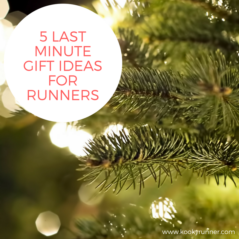 5 Last Minute Gift Ideas for Runners