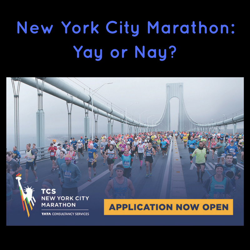New York City Marathon – Yay or Nay?
