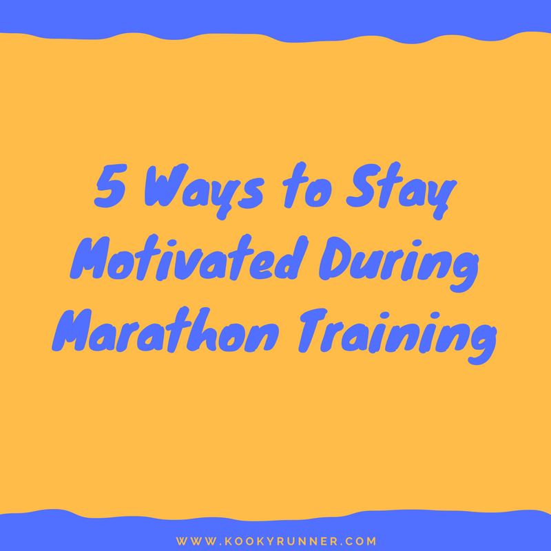 5 Ways to Stay Motivated During Marathon Training