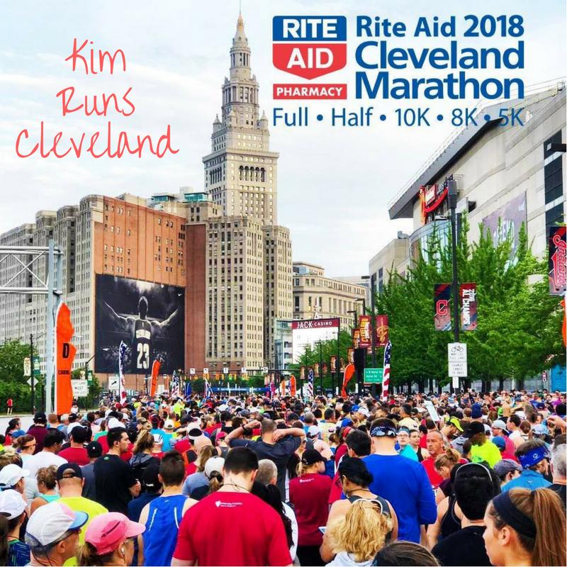 Rite Aid Cleveland Half Marathon Training Recap – Week 9