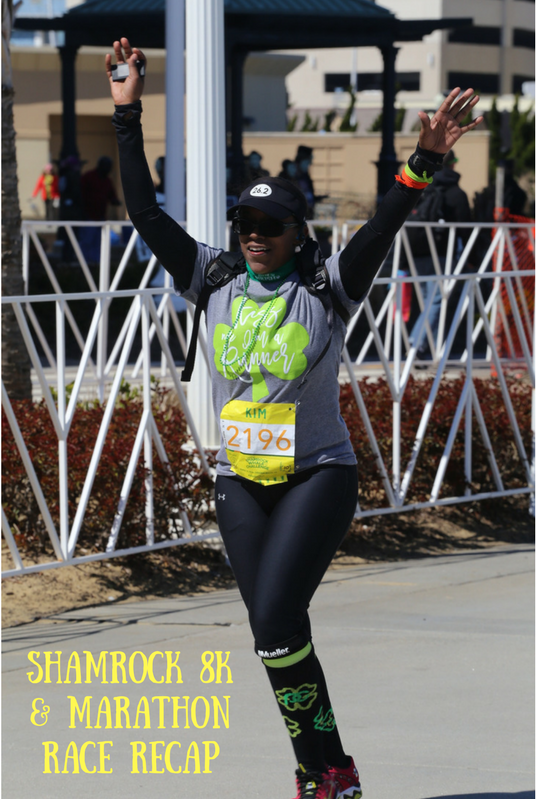 Yuengling Shamrock 8K and Marathon Race Recap