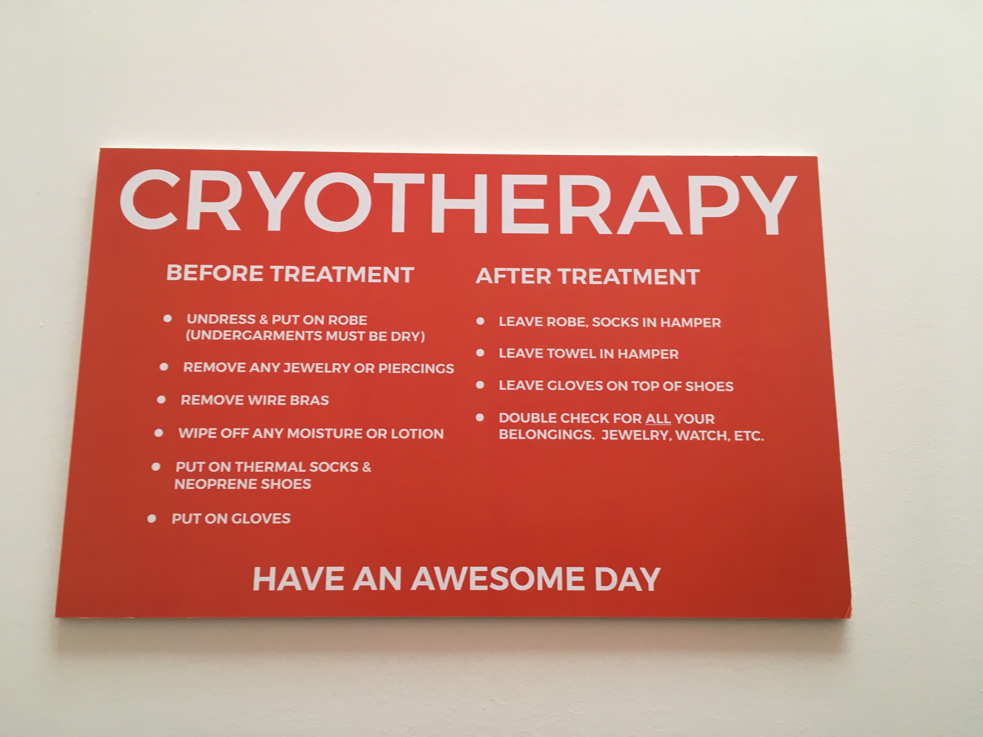 5 Reasons To Try Cryotherapy