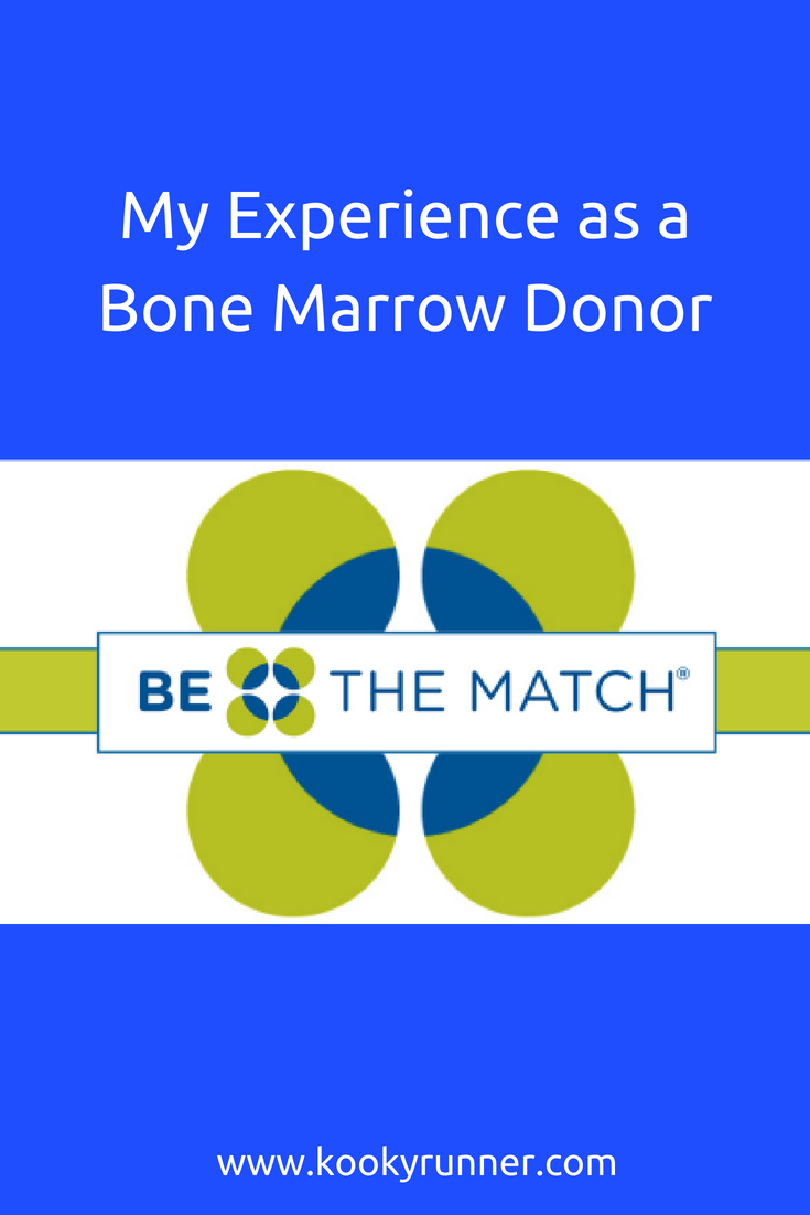 Weekly Wrap: My Experience As a Bone Marrow Donor