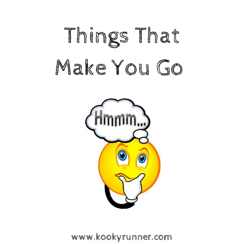 5 Things That Make You Go Hmmm..