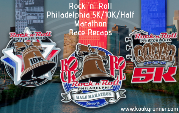 Rock 'n' Roll Philadelphia 5K, 10K and Half Marathon Race Recaps