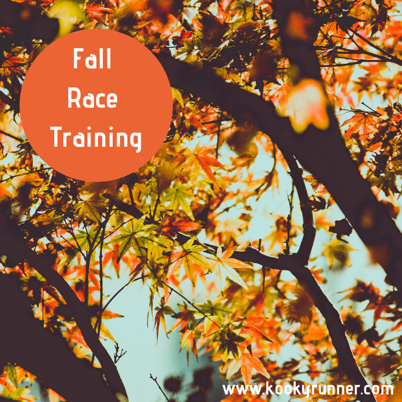 Fall Race Training – Week 1